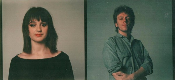Paul Thomas and Liza Brown at the photo shoot for Kalizascopes.